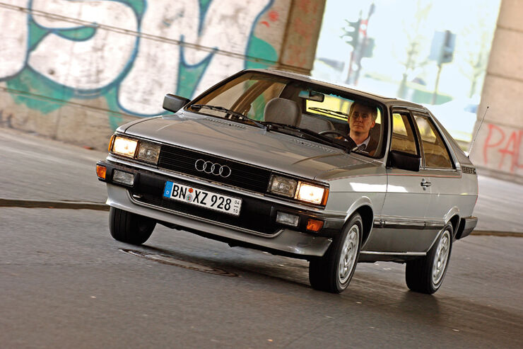 Audi GT Coupe, Frontansicht