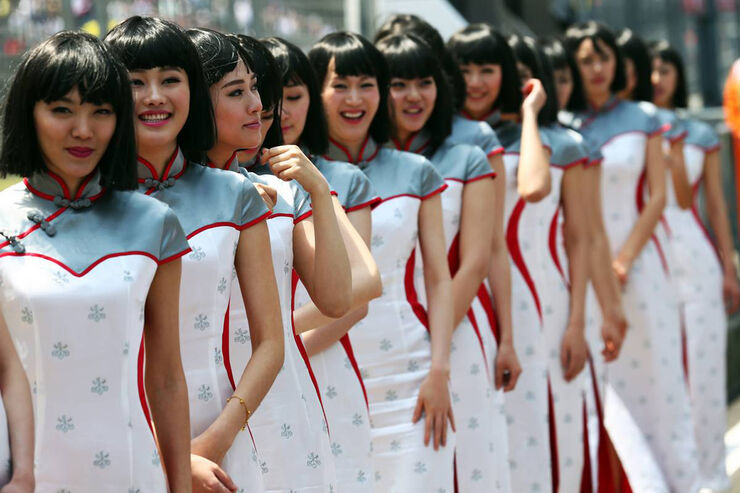 Grid Girls - Formel 1 - GP China - 14. April 2013