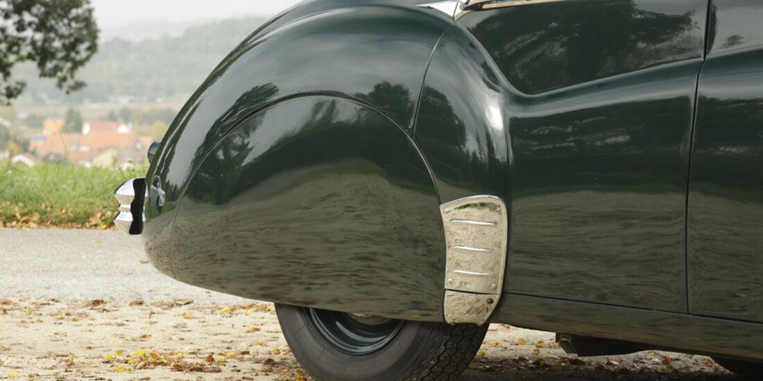 Jaguar Mark VII, Kotflügel