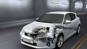 Lexus CT200h Technik