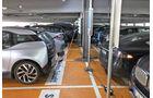 …ffentliche Ladestation Elektro-Auto Parkhaus Flughafen MŸnchen
