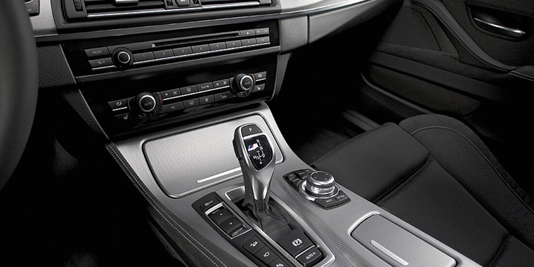 01/2012, BMW M 550d xDrive, Mittelkonsole, innenraum