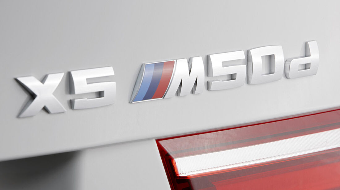 01/2012, BMW X5 M50d, Typenschild