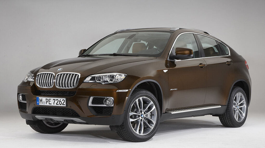 01/2012, BMW X6 2012 Facelift