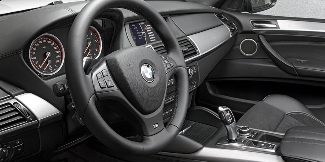 01/2012, BMW X6 M50d, Cockpit, Innenraum