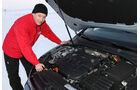 01/2013 VW Golf Abnahmefahrten Polarkreis, Golf Blue Motion, Jens Katemann