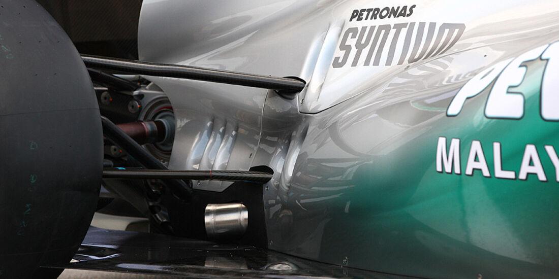 02/11 Mercedes GP W02 2011 Launch