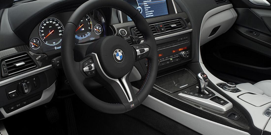 02/2012 BMW M6 Cabrio, Innenraum