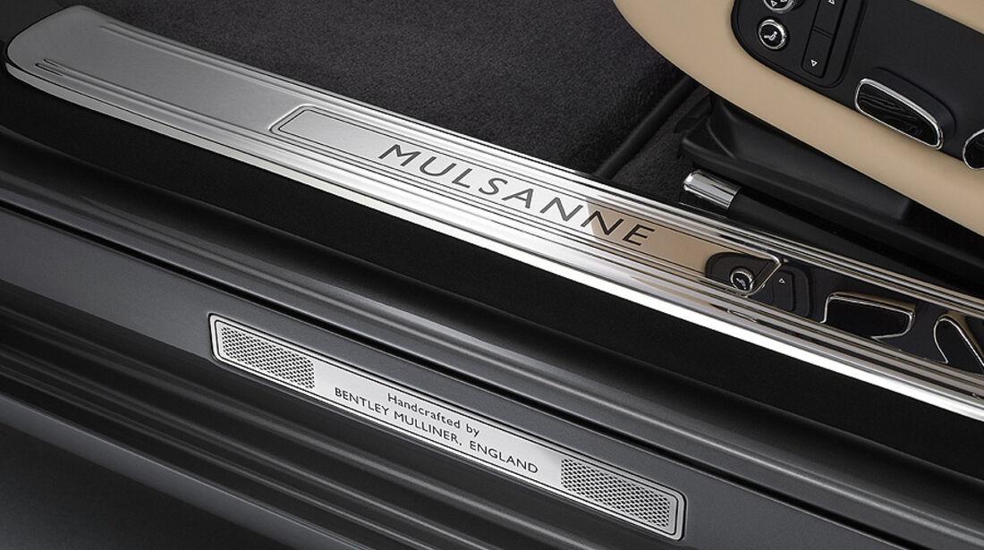 02/2012 Bentley Mulsanne, Einstiegsleisten