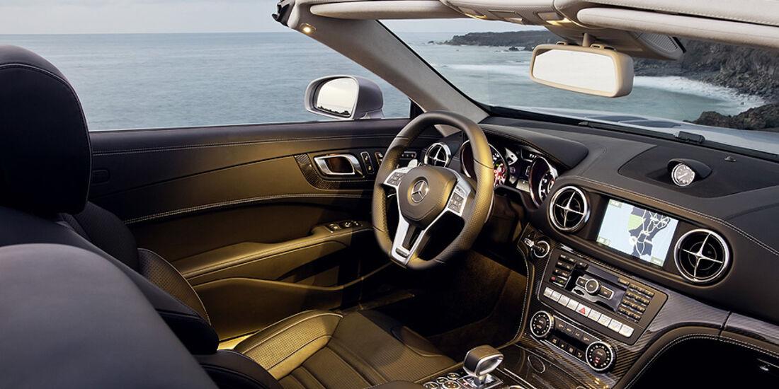 02/2012 Mercedes SL 63 AMG, Innenraum