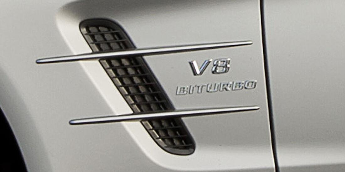 02/2012 Mercedes SL 63 AMG, Kiemen Schriftzug