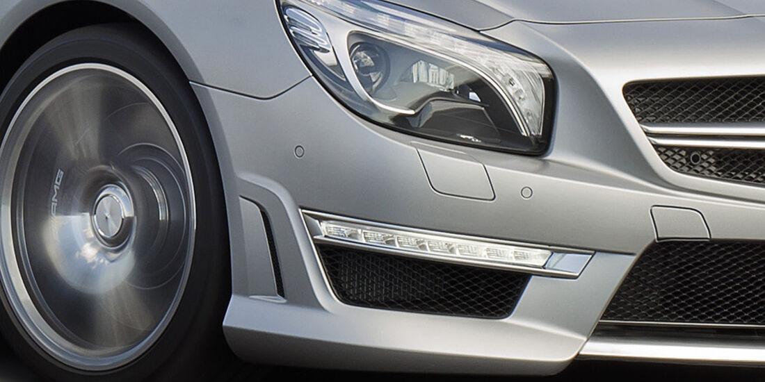 02/2012 Mercedes SL 63 AMG, Scheinwerfer