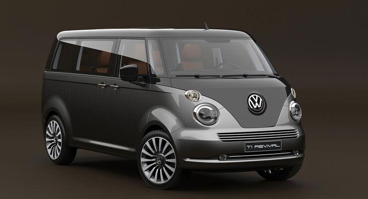 volkswagen t1 revival concept retro bulli auto motor. Black Bedroom Furniture Sets. Home Design Ideas
