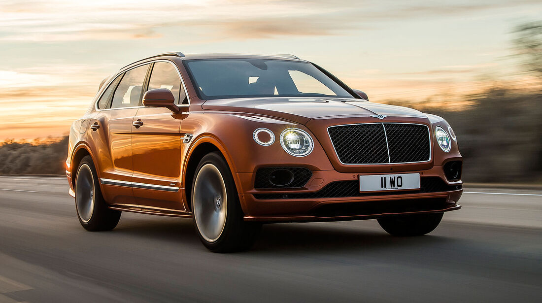 02/2019 Bentley Bentayga Speed