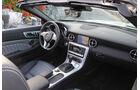 03/11 aumospo 07/2011 Mercedes SLK 350, Cabrio, Roadster, Innenraum