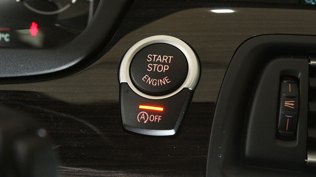 03/2011 BMW 530d, aumospo 06/2011, Allrad, Start-Stopp-Knopf