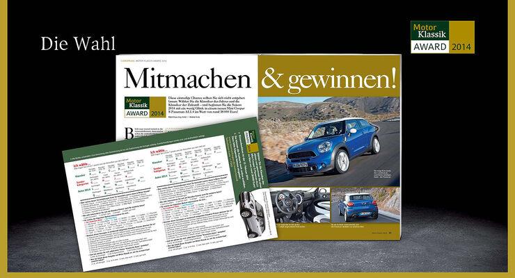 03/2014 -Motor Klassik Award, Best Brands 2014