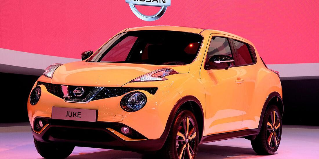 03/2014, Nissan Juke Facelift Genf