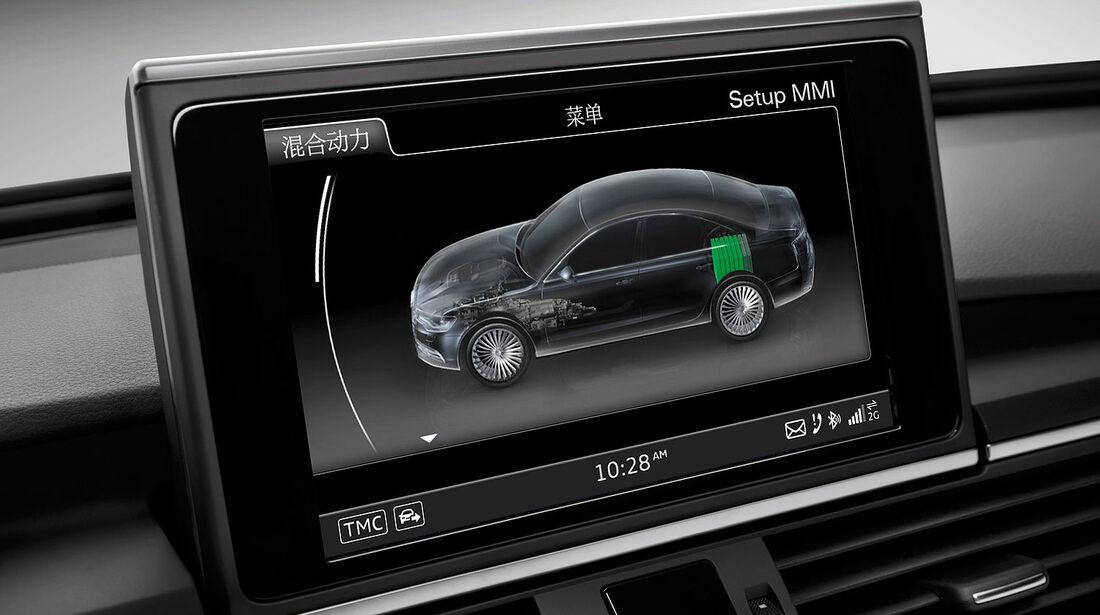 04/2012, Audi A6 L E-Tron Concept Auto China, Innenraum