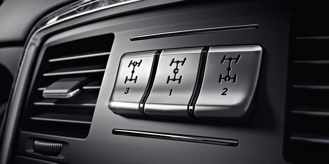04/2012, Mercedes G-Klasse, Schalter, Sperren, Alleradantrieb
