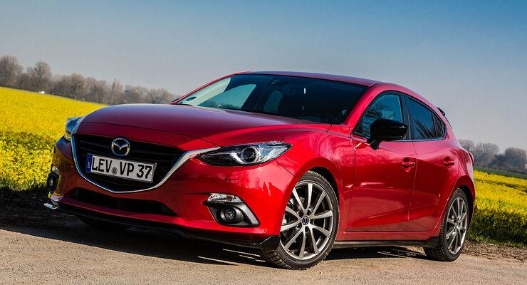 04/2014 Mazda 3 sportliches Zubehör