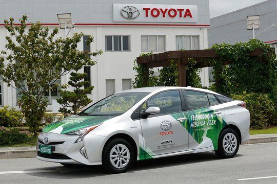 04/2018, Toyota Prius Flex Fuel Hybrid