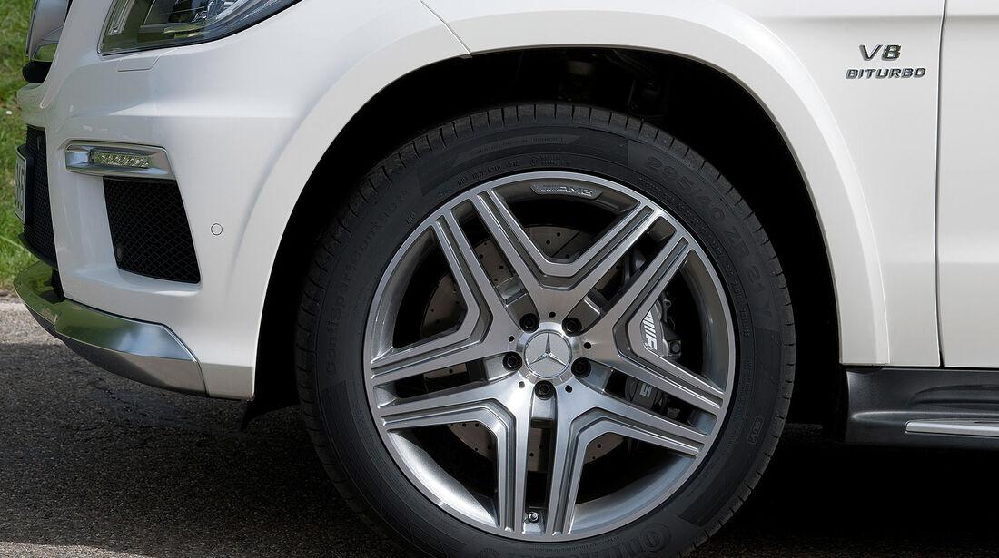 05/2012, 2012 Mercedes GL 63 AMG, Felge, Bremse