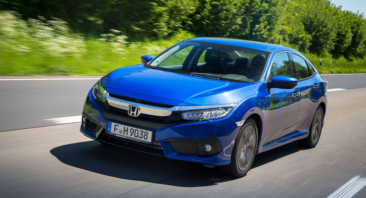Honda Civic Limousine Im Fahrbericht Preis Fahreindruck Auto