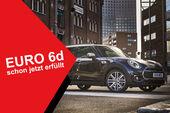 05/2019, Mini Clubman Facelift mit Euro 6d-Störer