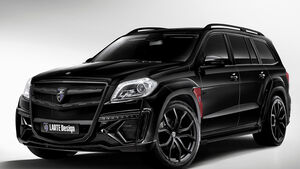 06/2014, Larte Design Mercedes GL Black Crystal