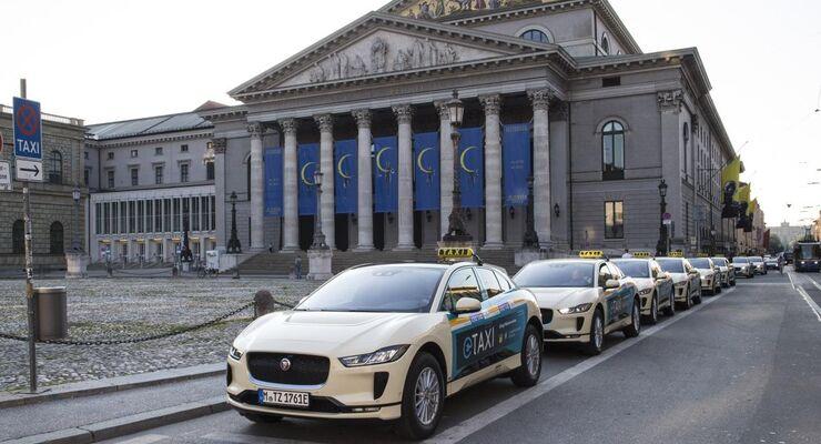 07/2018, Jaguar I-Pace Taxi