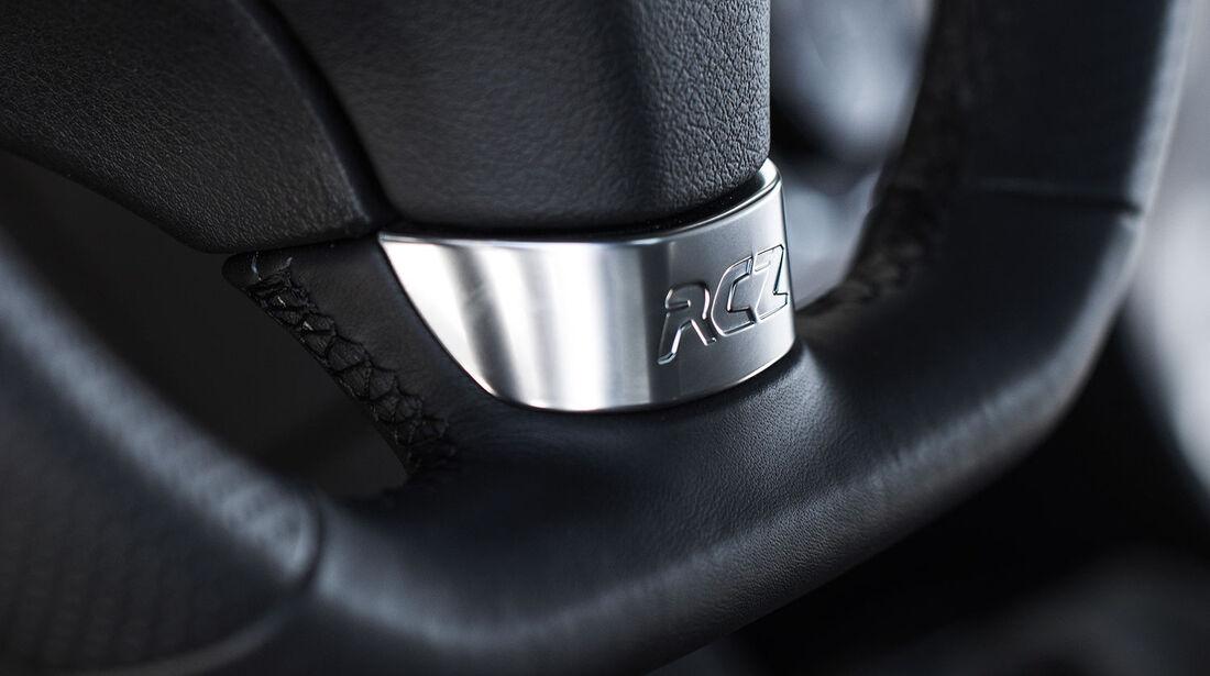 09/2012, Peugeot RCZ Facelift, Lenkradspange