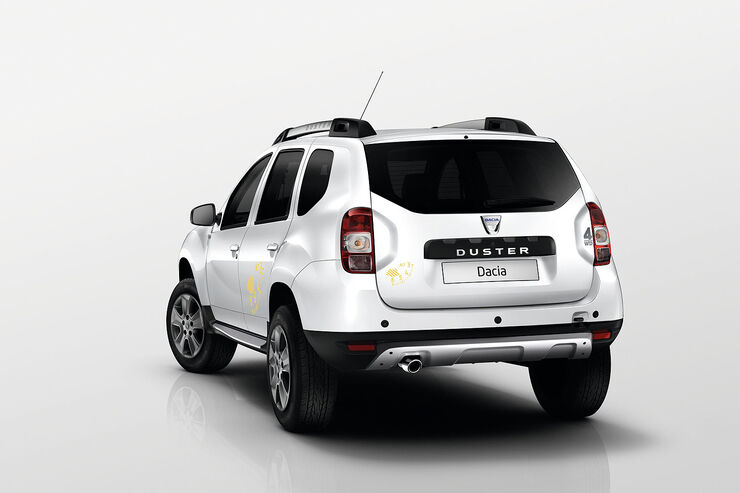 09/2014 Dacia Duster Air Sondermodell