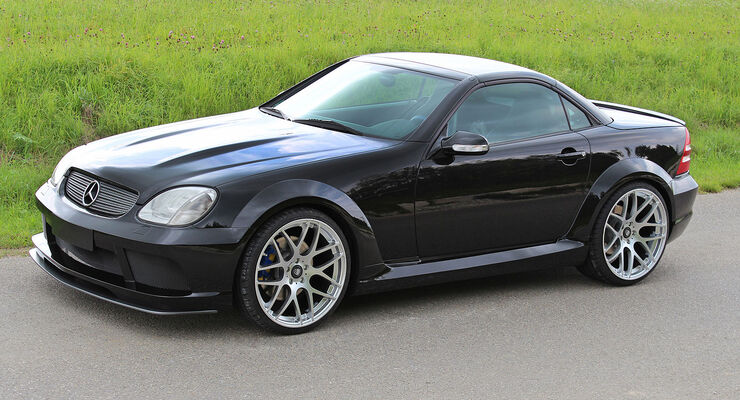 09/2014, Lumma R 170 Mercedes SLK Black Move