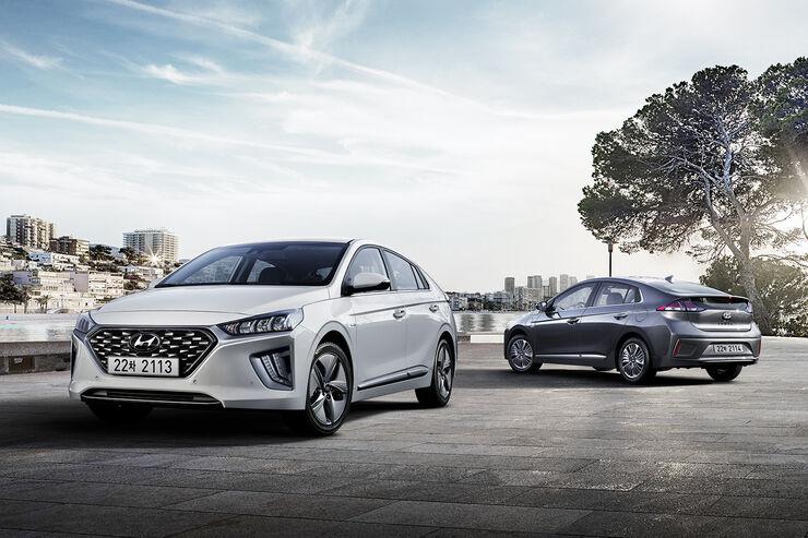 1/2019, Hyundai Ioniq Facelift 2019