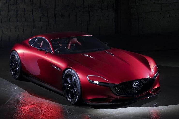 Mazda Rx Vision Concept Mazda Rx 9 Mit 400 Ps Auto Motor Und Sport