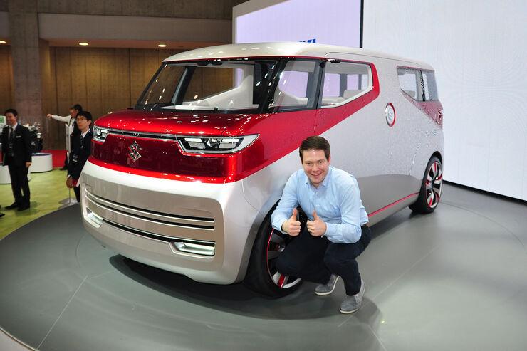 10/2015 Tokio Motor Show 2015 Suzuki Air Triser
