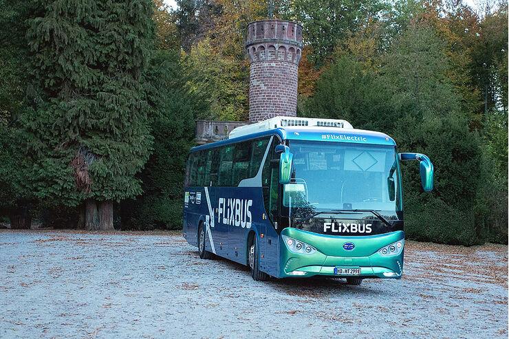 flixbus im elektro bus von byd von frankfurt nach mannheim auto motor und sport. Black Bedroom Furniture Sets. Home Design Ideas