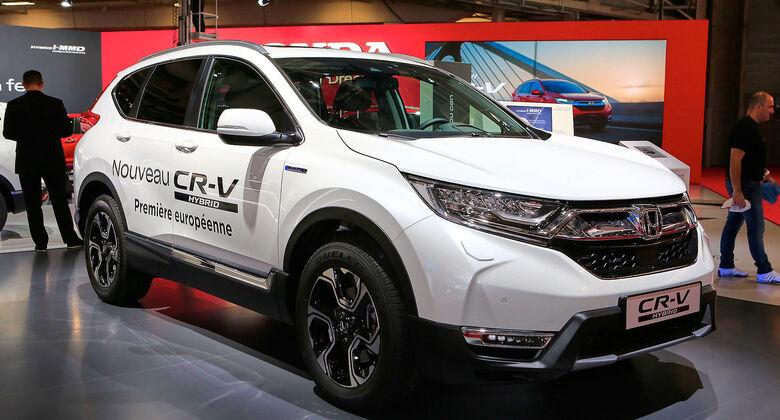 10/2018, Honda CR-V Hybrid auf dem Pariser Autosalon 2018