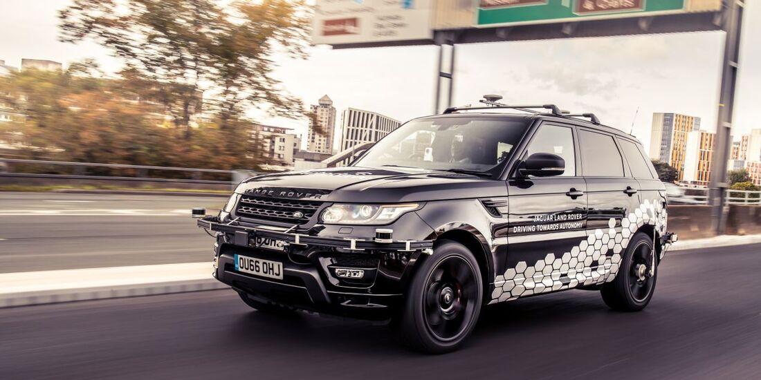 10/2018, Land Rover Autonom
