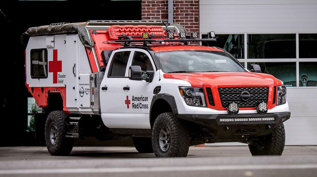 10/2018, Nissan Titan XD First Response Car