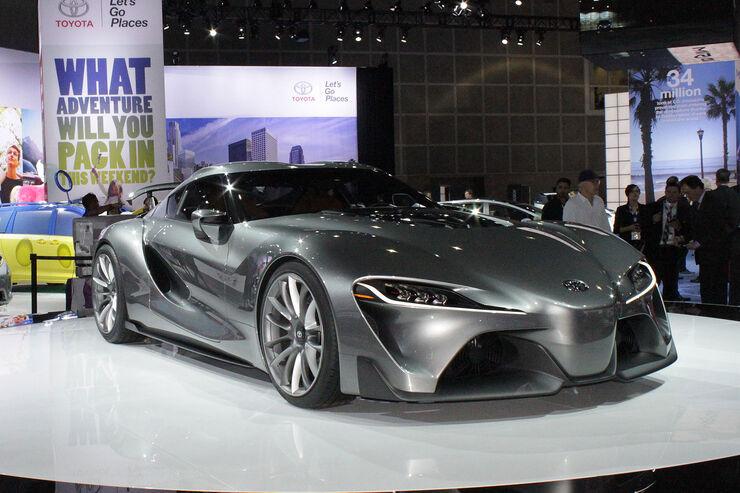 Rundgang über die L.A. Autoshow 2014: Wasserstoff-Powerplay und West Coast-Wahnsinn