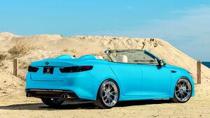 11/2015 Kia auf der Sema 2015 Kia A1A Optima Cabrio