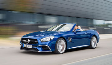 11/2015, Mercedes SL Facelift