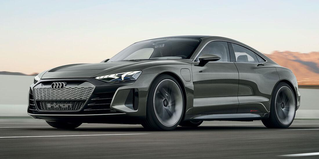 11/2018 Audi E-Tron GT Concept