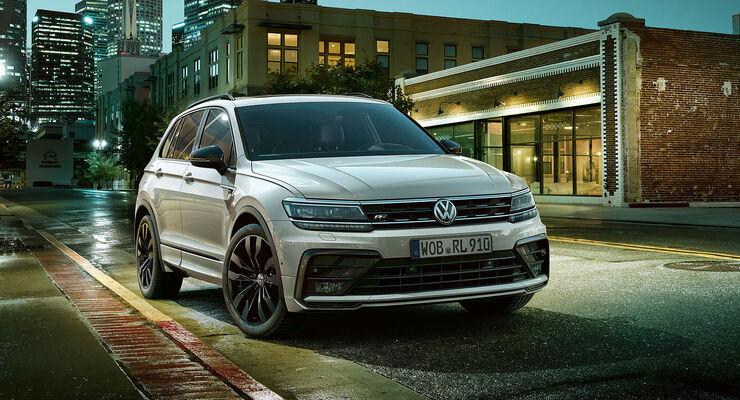 11/2018, VW Tiguan R-Line Designpaket Black Style