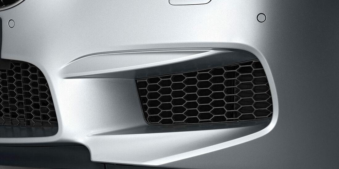 12/2012 BMW M6 Gran Coupé, Frontschürze, Lufteinlass