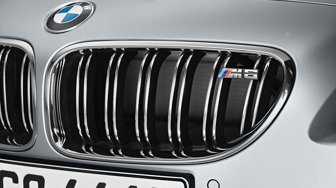 12/2012 BMW M6 Gran Coupé, Kühlergrill
