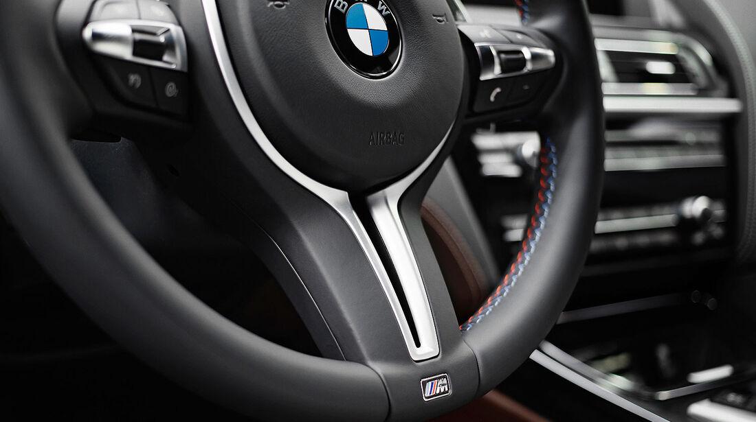 12/2012 BMW M6 Gran Coupé, Lenkrad