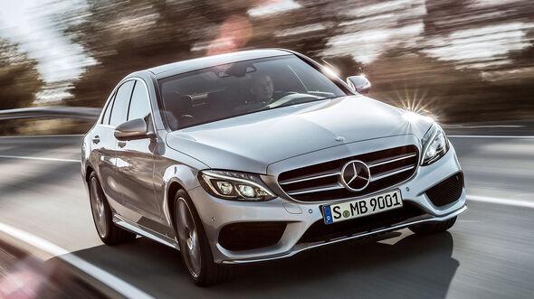 12/2013 Mercedes C-Klasse AMG-Line  Sperrfrist 16.12.2013 10.00 Uhr
